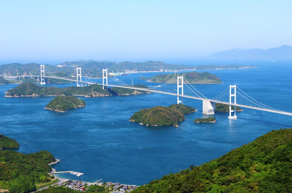 愛媛の玄関、来島海峡大橋
